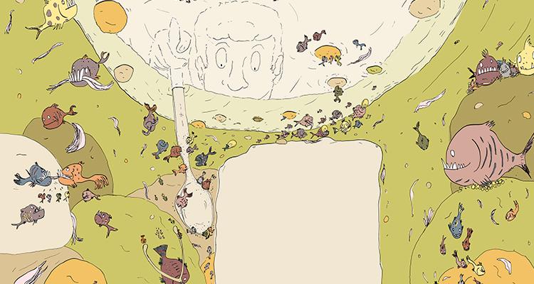 imagen Pirañas de ajiaco